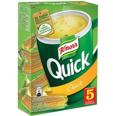 KNORR QUICK sopa choclo