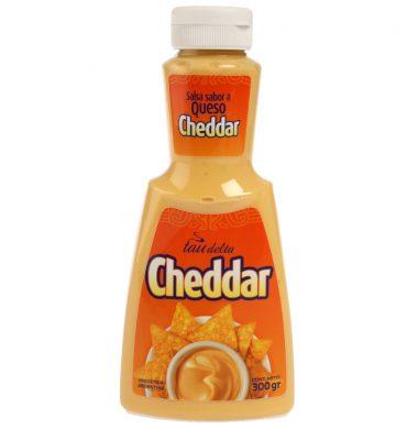 TAU DELTA salsa cheddar x300g