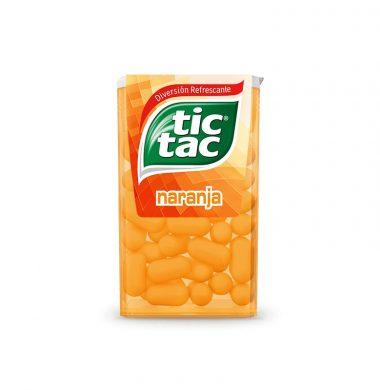 TIC TAC pastilla naranja x12u