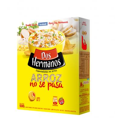 DOS HERMANOS arroz parboil. 00000 x500g