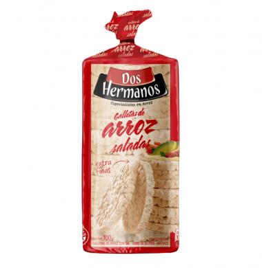 DOS HERMANOS galletas arroz con sal x100g