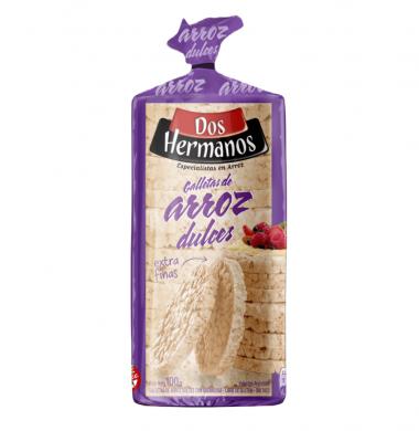 DOS HERMANOS galletas arroz dulces x100g