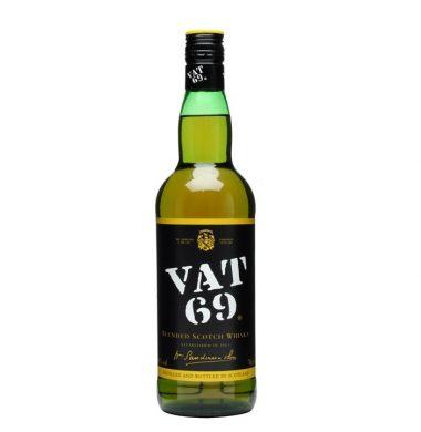 VAT 69 whisky x750cc