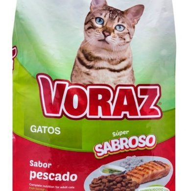 VORAZ alimento gato x10kg.