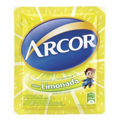 ARCOR jugo limonada x18sob.