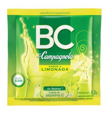 CAMPAGNOLA jugo B/C limonada x18sob.