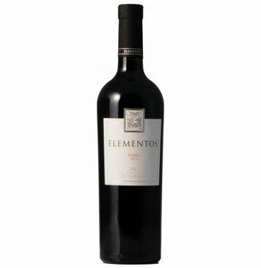 ELEMENTOS vino malbec x750cc