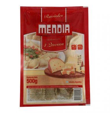 MENDIA ravioles 4 quesos x500g