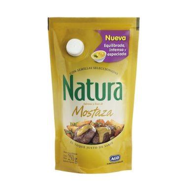 NATURA mostaza doy packx250g