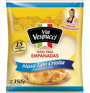 VIA VESPUCCI tapa empanada criolla x12u