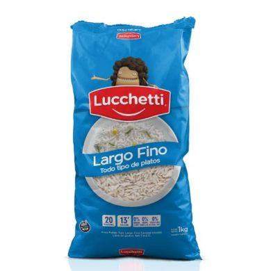 LUCCHETTI arroz largo fino x1Kil