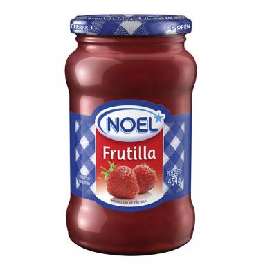 NOEL mermelada frutilla x454g