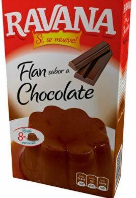 RAVANA flan chocolate x100g