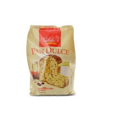 VALIDO pan dulce con chips x450g