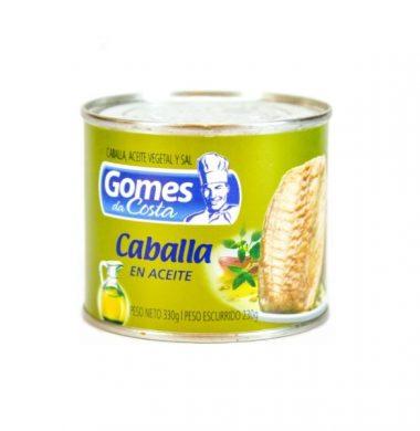 GOMES DA COSTA caballa aceite x330g