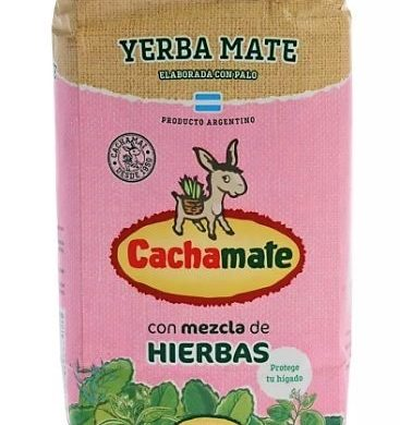 CACHAMATE yerba rosa x1kg