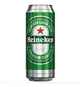 HEINEKEN cerveza lata x473cc.