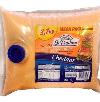 PAULINA queso cheddar untable x3.700kg