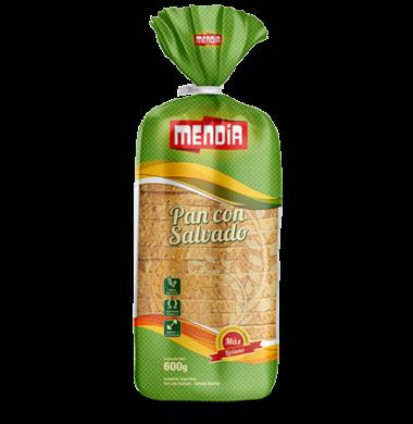 MENDIA pan salvado grande x600g