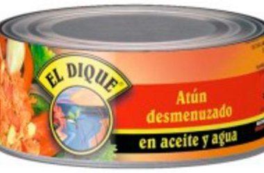 EL DIQUE atun desmenuzado aceite x170g