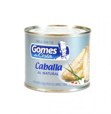 GOMES DA COSTA caballa natural x330g