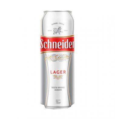 SCHNEIDER cerveza lata x473cc