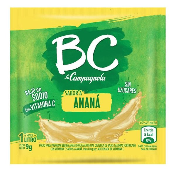 CAMPAGNOLA jugo BC anana x18sob.