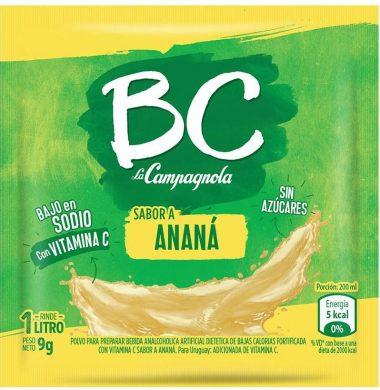 CAMPAGNOLA jugo B/C anana x18 sobres