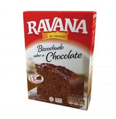 RAVANA bizcochuelo chocolate x540g