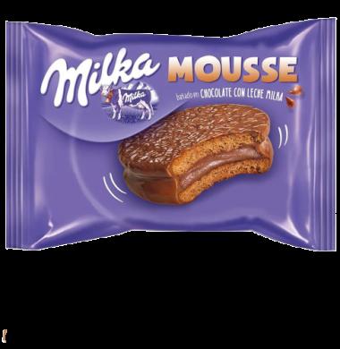MILKA alf.mousse choc/leche x42Gra