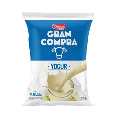 GRAN COMPRA yogur vainilla sachet x900cc