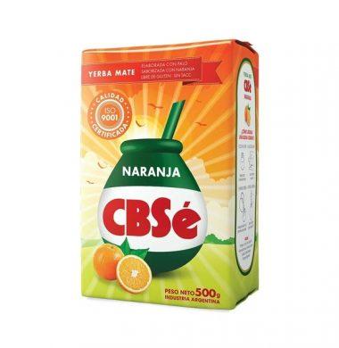 CBSE yerba c/naranja x500g