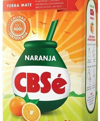 CBSE yerba silue/naranja s/tacc x500g