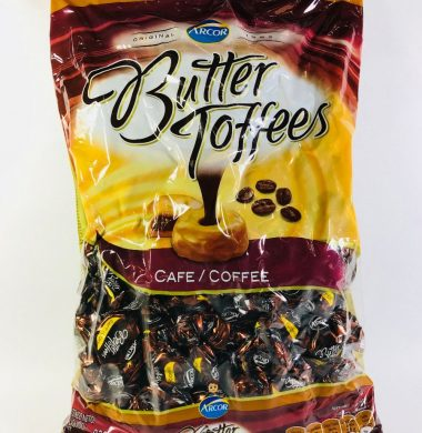 ARCOR caramelos butter toffee cafe x822g