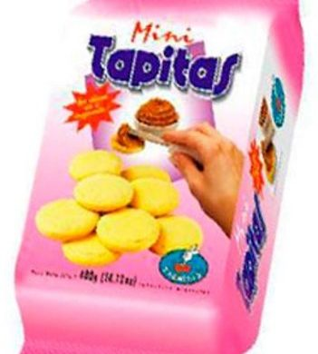 FACHITAS gallet. mini tapitas x400g