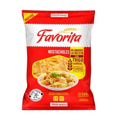 FAVORITA fideos mostachol x500g