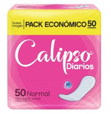 CALIPSO protector normal sin perfume  x50u.