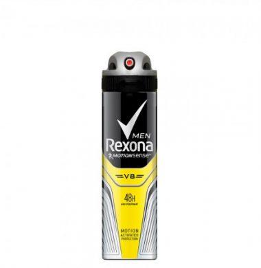 REXONA MEN desodorante V8 x90g.