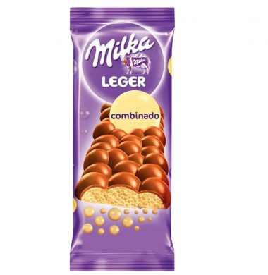 MILKA chocolate leger combinado x45g.