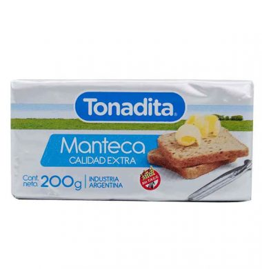 TONADITA manteca x200g