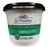 PAULINA queso crema ciboulette x250g