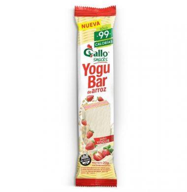 GALLO oblea arroz flla/yogur x20g