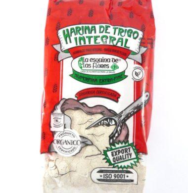 ESQUINA harina integral super fina organica x1kg.