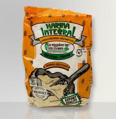 ESQUINA harina integral gruesa organica x500g.