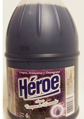 HEROE limp. lavanda x4lt