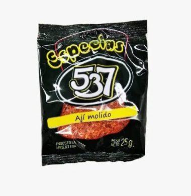 537 aji molido 5u x25g