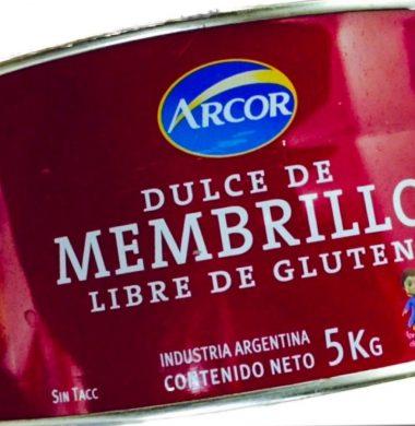 ARCOR dulce membrillo x5kg cajon