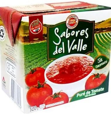 SABORES DEL VALLE pure tomate x520g
