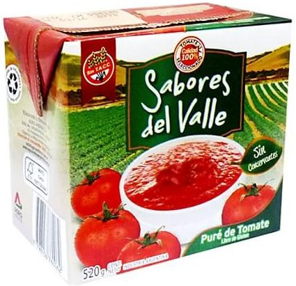 sabores valle 520 pure