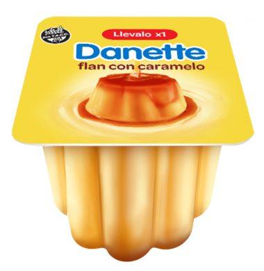 DANETTE flan con caramelo x95g